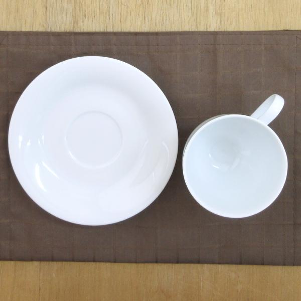コーヒーカップソーサー 白 白磁 ロマンス 洋食器 業務用食器 商品番号:3b543-25