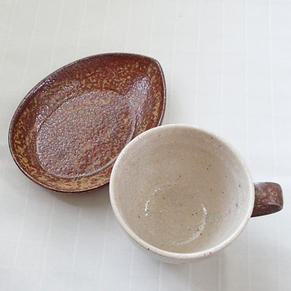 コーヒーカップソーサー 5客セット 和陶器 流砂丘