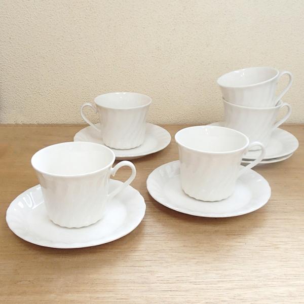 コーヒーカップソーサー 5客セット ニューウエーブ ニューボン