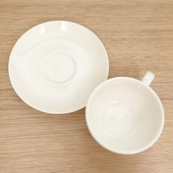 ティーカップソーサー ニューボン ボンクジィーン 洋食器 業務用食器 商品番号:k310153-310155