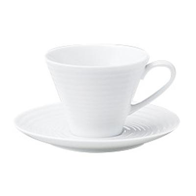 コーヒーカップソーサー ピュアホワイト アルバ  洋食器 業務用食器 商品番号:k780052-780055