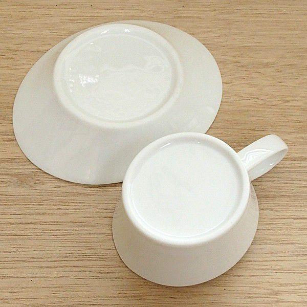 コーヒーカップソーサー 白 Peritoペリート 洋食器 業務用食器 STUDIO010 商品番号:spr-004-005