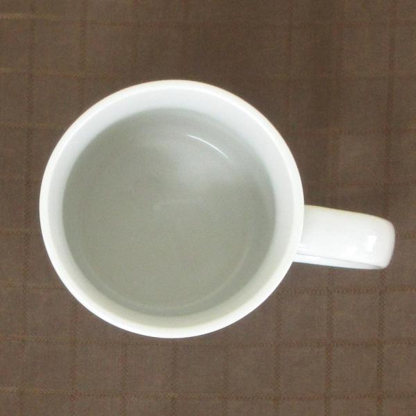 マグカップ 白 切立マグ 300cc 陶器 業務用食器 商品番号:y6-86-5